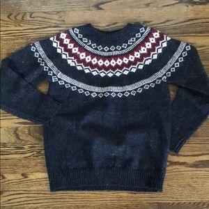 NEW Weatherproof Fair Isle Sweater